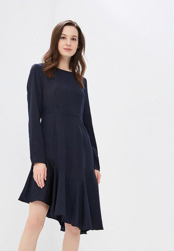 Купить Платье Vero Moda, VE389EWAFUP5, синий, Весна-лето 2018