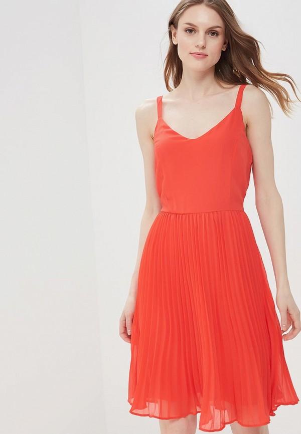 Купить Платье Vero Moda, VE389EWAFUS6, красный, Весна-лето 2018