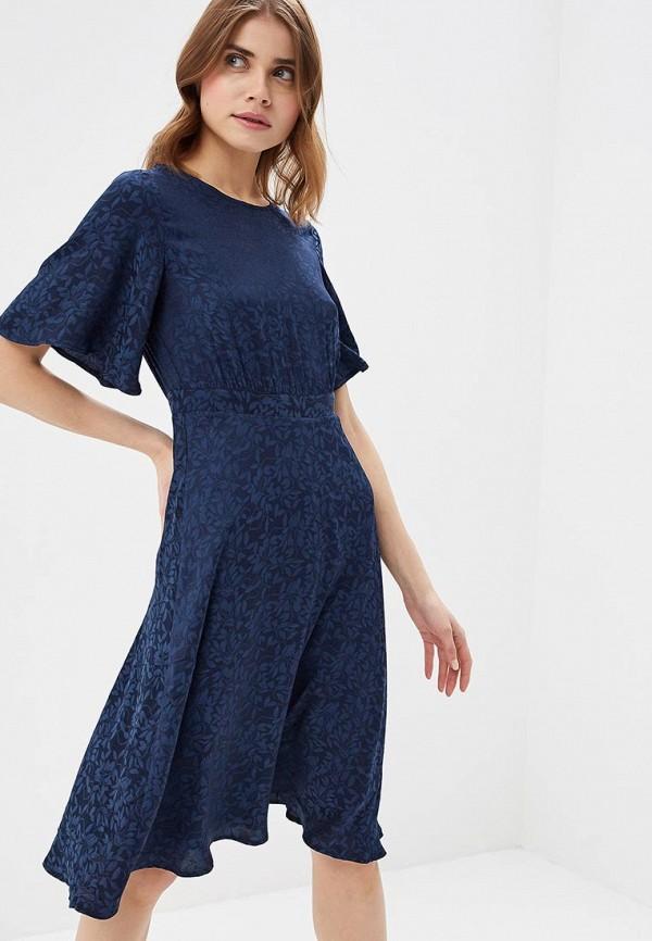 Купить Платье Vero Moda, VE389EWAFUT8, синий, Весна-лето 2018