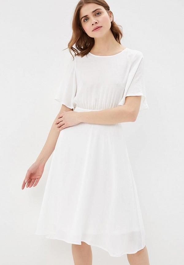Купить Платье Vero Moda, VE389EWAFUT9, белый, Весна-лето 2018