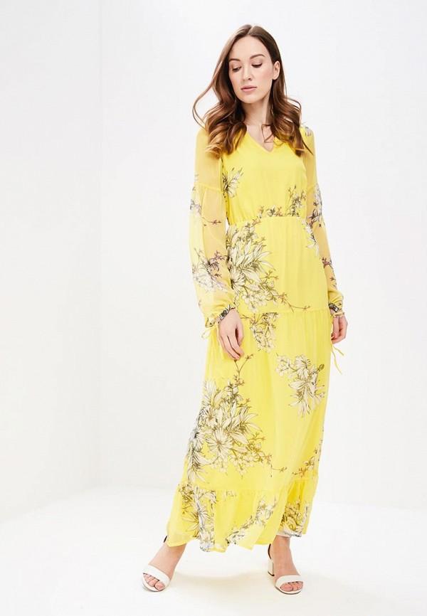 Купить Платье Vero Moda, VE389EWAFUU3, желтый, Весна-лето 2018