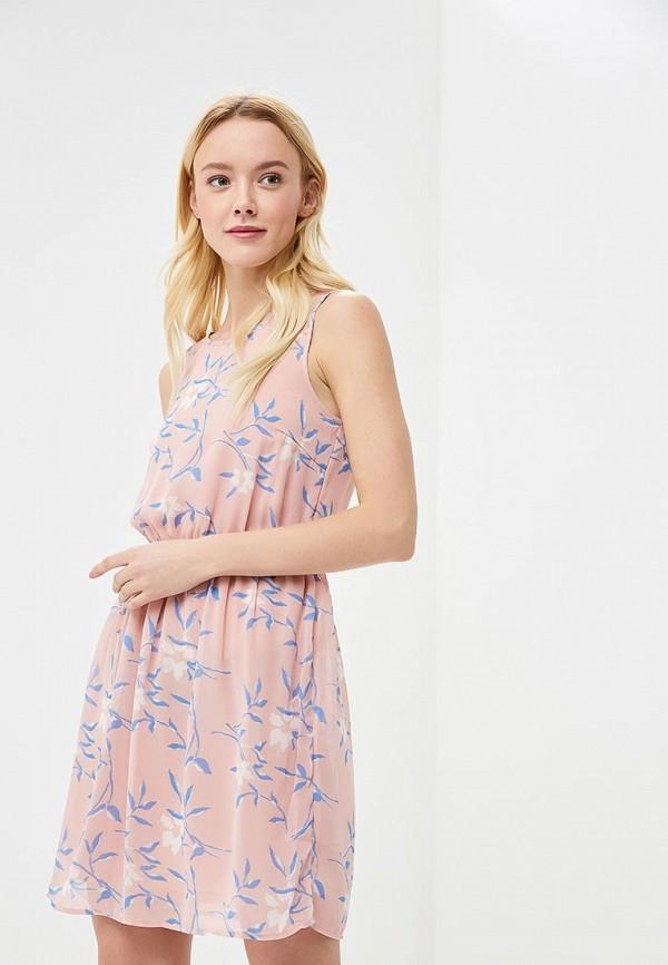Купить Платье Vero Moda, VE389EWAFUW3, розовый, Весна-лето 2018