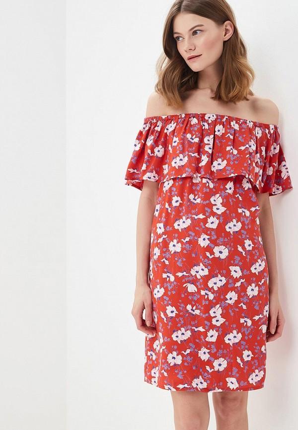 Купить Платье Vero Moda, VE389EWAFUZ0, красный, Весна-лето 2018