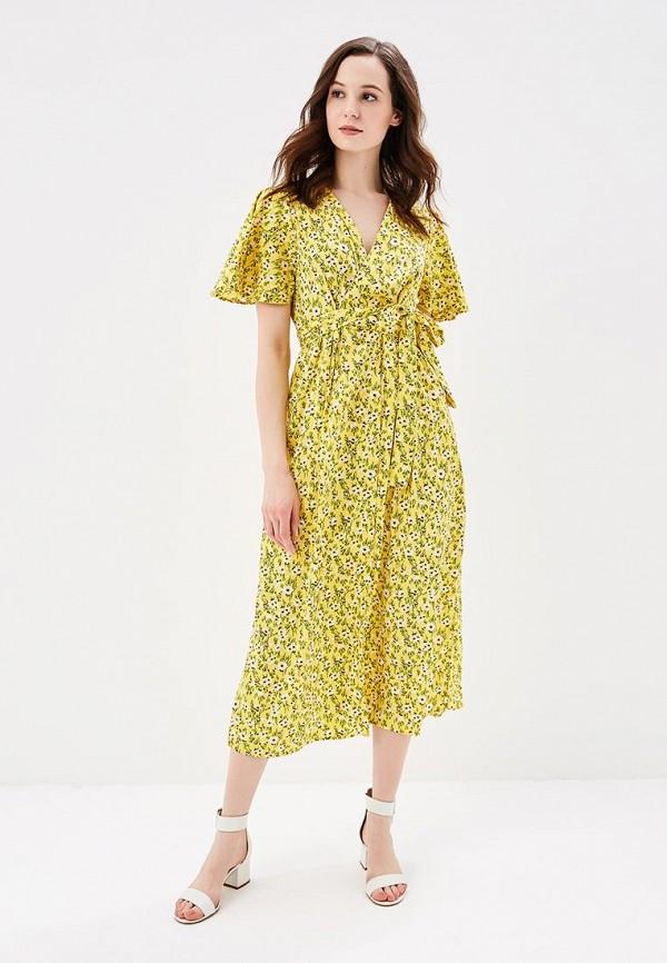 Купить Платье Vero Moda, VE389EWAFUZ3, желтый, Весна-лето 2018