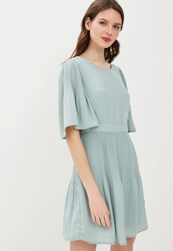 Купить Платье Vero Moda, VE389EWBDZR4, зеленый, Весна-лето 2018