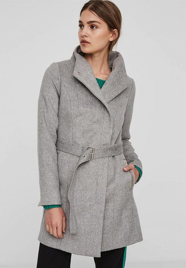 Пальто Vero Moda Vero Moda VE389EWBWWK3 пальто vero moda цвет темно оливковый