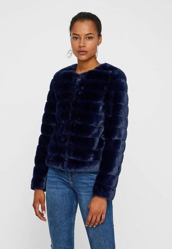 Шуба Vero Moda Vero Moda VE389EWBWWL9 пальто vero moda vero moda ve389ewujn90