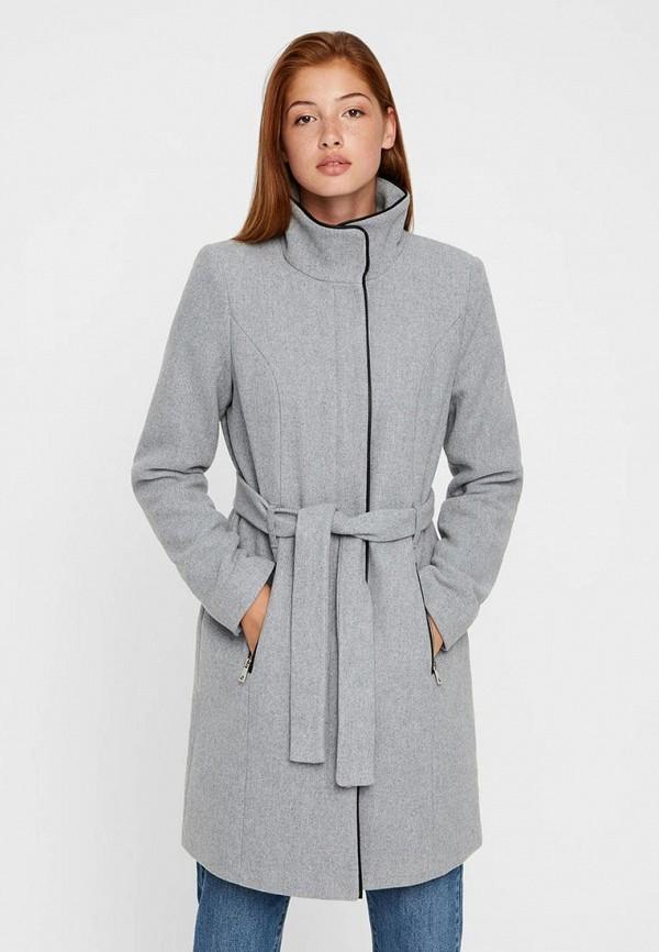 Пальто Vero Moda Vero Moda VE389EWBWWP1 пальто vero moda цвет темно оливковый