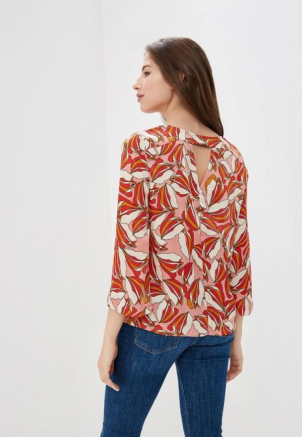 Фото 3 - женскую блузку Vero Moda розового цвета
