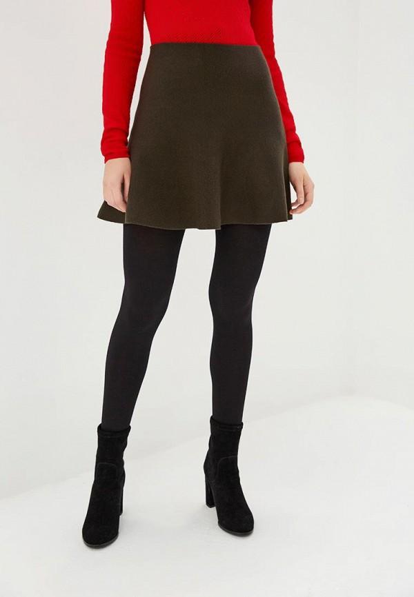 женская юбка vero moda, хаки