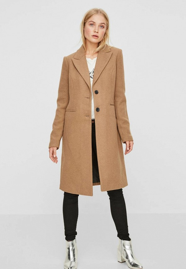 Пальто Vero Moda Vero Moda VE389EWBXTV3 пальто женское vero moda цвет зеленый 10188866 pepper green размер s 42