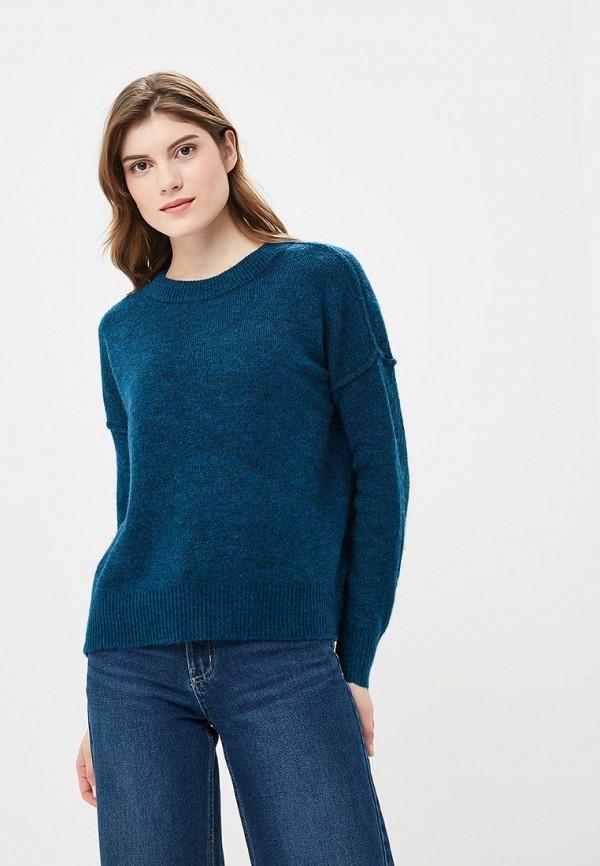 женский джемпер vero moda, синий