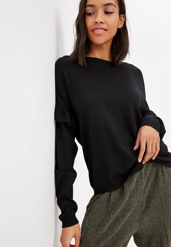 женский джемпер vero moda, черный