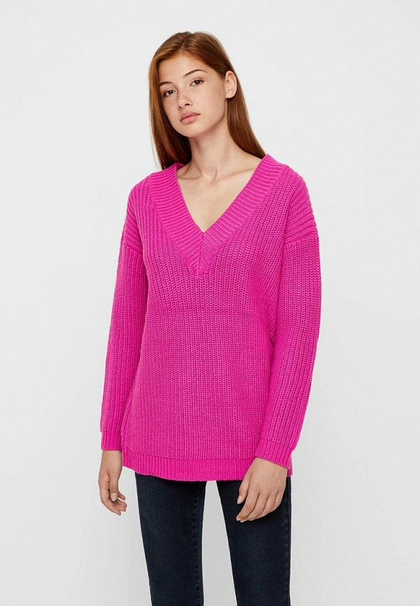 Купить Пуловер Vero Moda, VE389EWBXUL6, розовый, Осень-зима 2018/2019