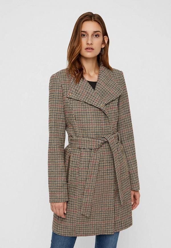 Пальто Vero Moda Vero Moda VE389EWBXUL7 пальто vero moda цвет темно оливковый