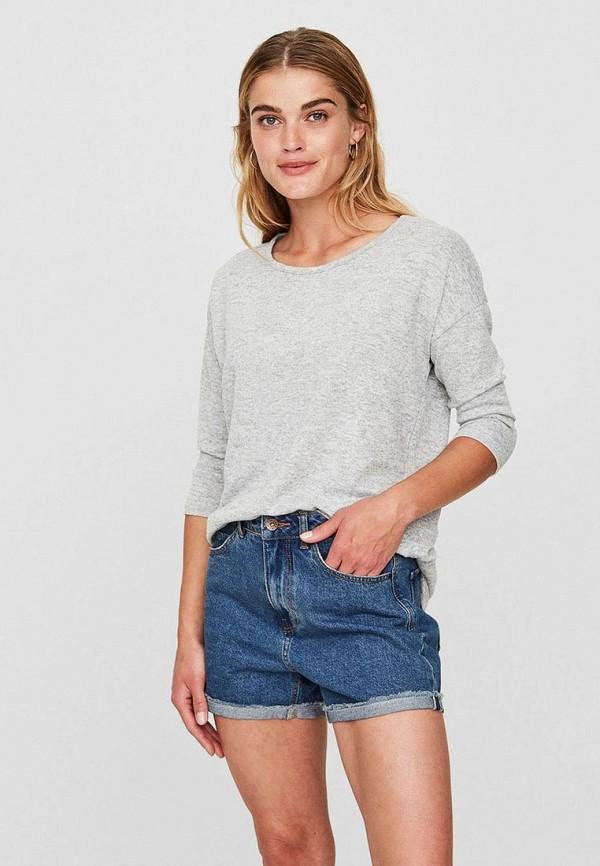 Джемпер Vero Moda Vero Moda VE389EWBXUN4 джемпер женский vero moda цвет серый 10185482 medium grey melange размер s 42 44