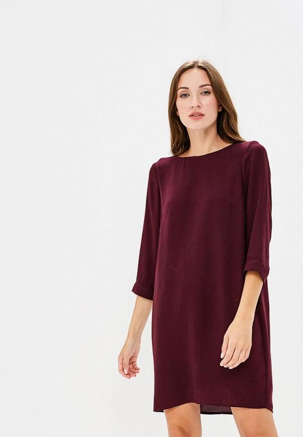 Купить Платье Vero Moda, VE389EWBXUO8, бордовый, Осень-зима 2018/2019