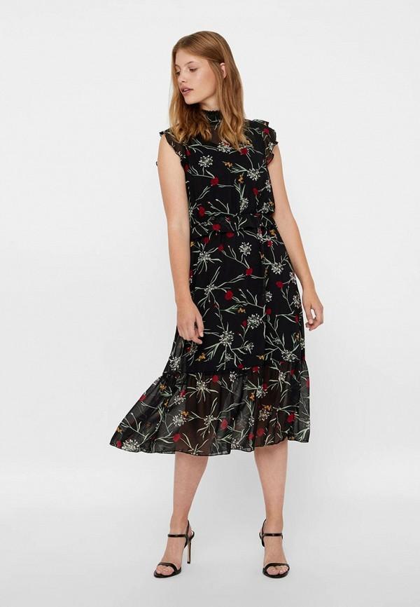 Платье Vero Moda Vero Moda VE389EWBXUR5 джемпер hilfiger denim dm0dm02819 099 black iris htr