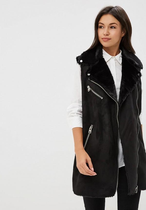 женский жилет vero moda, черный