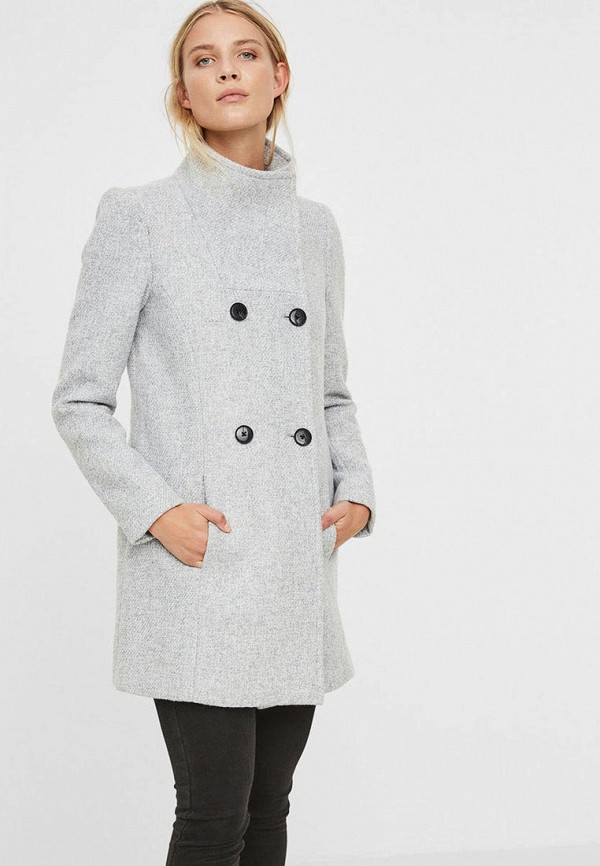 Пальто Vero Moda Vero Moda VE389EWCTPO3 пальто vero moda vero moda ve389ewxag00