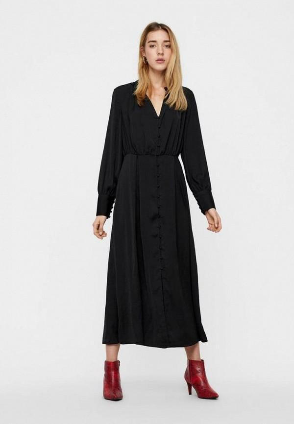 Платье Vero Moda Vero Moda VE389EWCWWS1 платье vero moda цвет черный 10188396 black размер 44 46