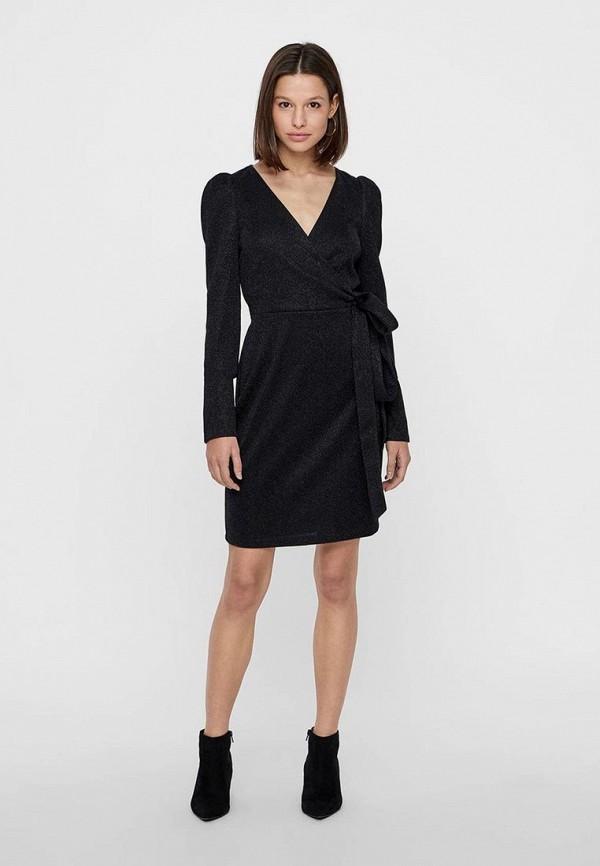 женское платье-футляр vero moda, черное