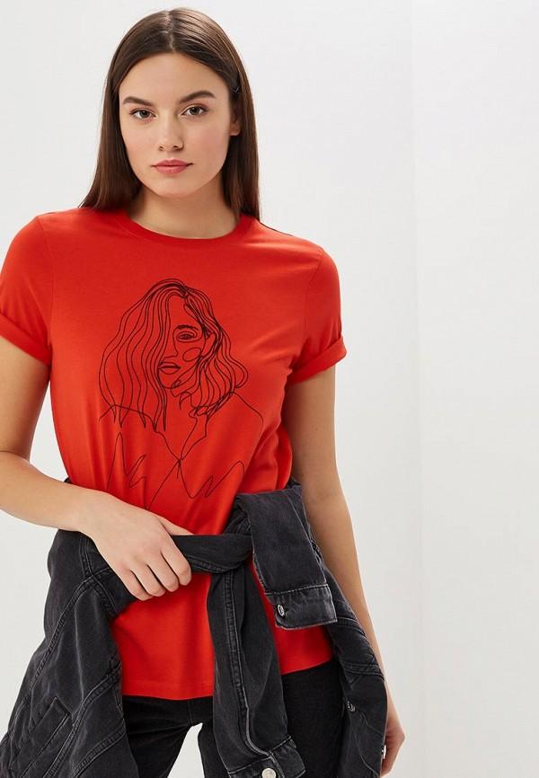 Футболка Vero Moda Vero Moda VE389EWCWWW2 футболка vero moda цвет черный page 3