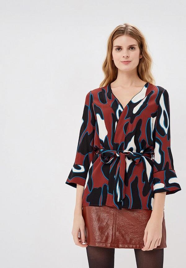Блузка  Бордовый цвета