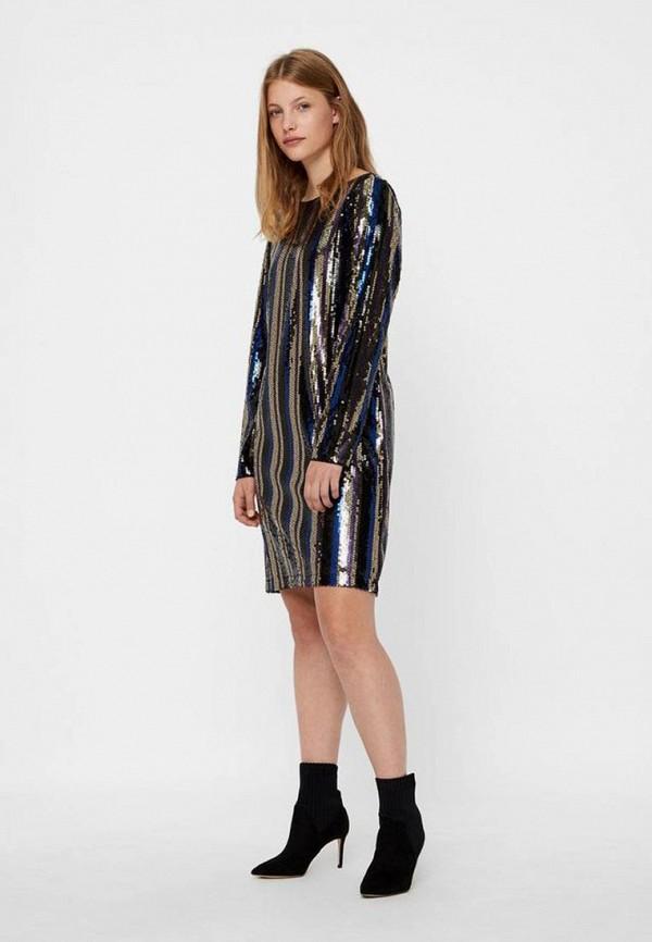 Платье Vero Moda Vero Moda VE389EWDFWC4 платье vero moda цвет черный 10188396 black размер 44 46