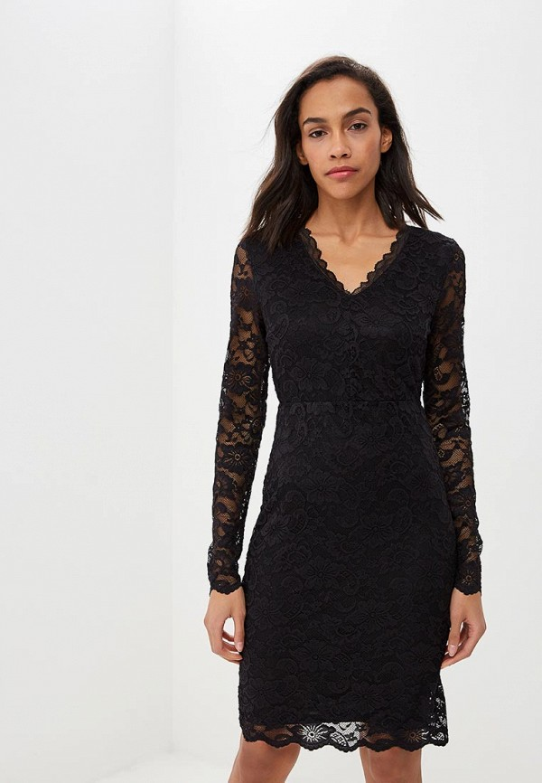 женское вечерние платье vero moda, черное