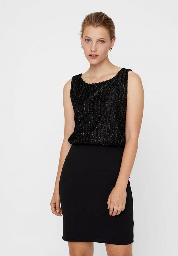 Платье Vero Moda Vero Moda VE389EWDFWD4 платье vero moda цвет черный 10188396 black размер 44 46