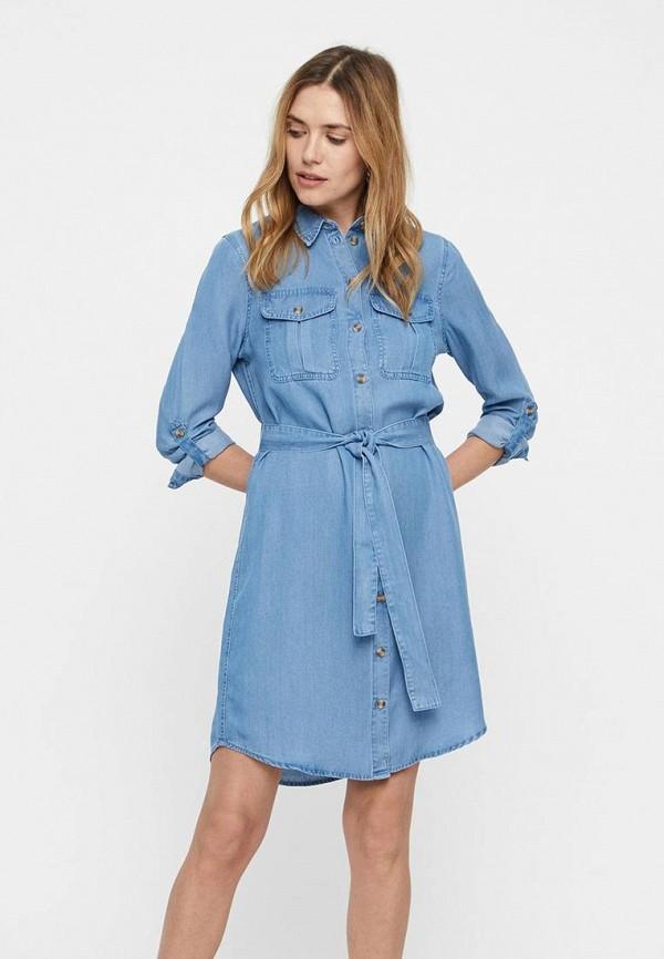Платье Vero Moda Vero Moda VE389EWDLWH1 цена