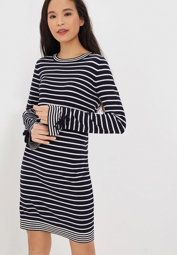 женское повседневные платье vero moda, синее