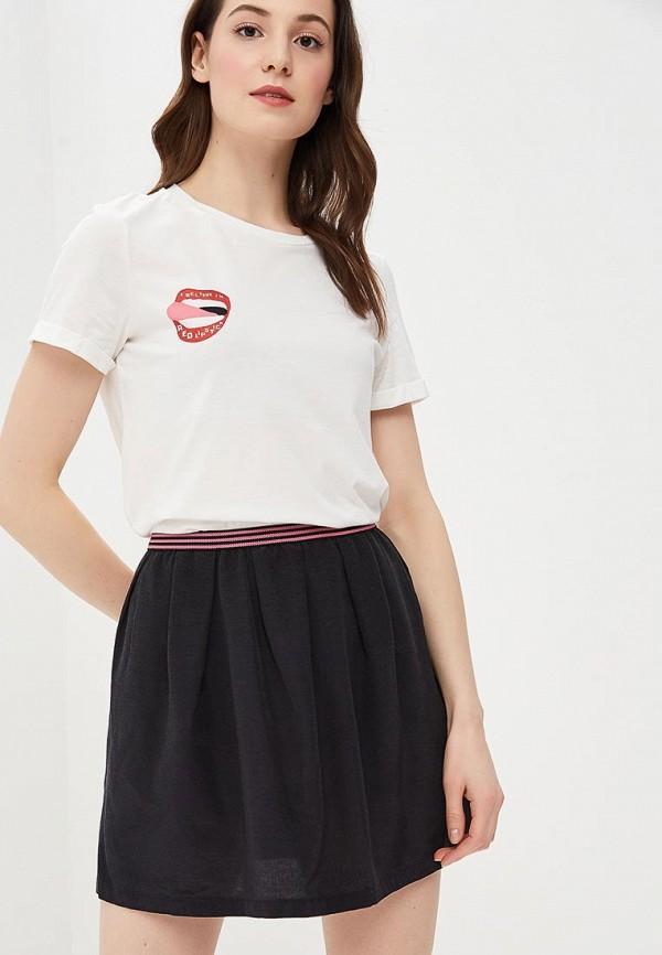Футболка Vero Moda Vero Moda VE389EWDLWI9 блузка женская vero moda цвет белый 10194917 snow white размер xl 48