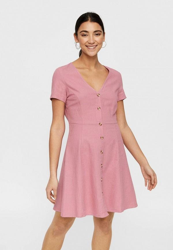 купить Платье Vero Moda Vero Moda VE389EWDLWK1 по цене 1790 рублей