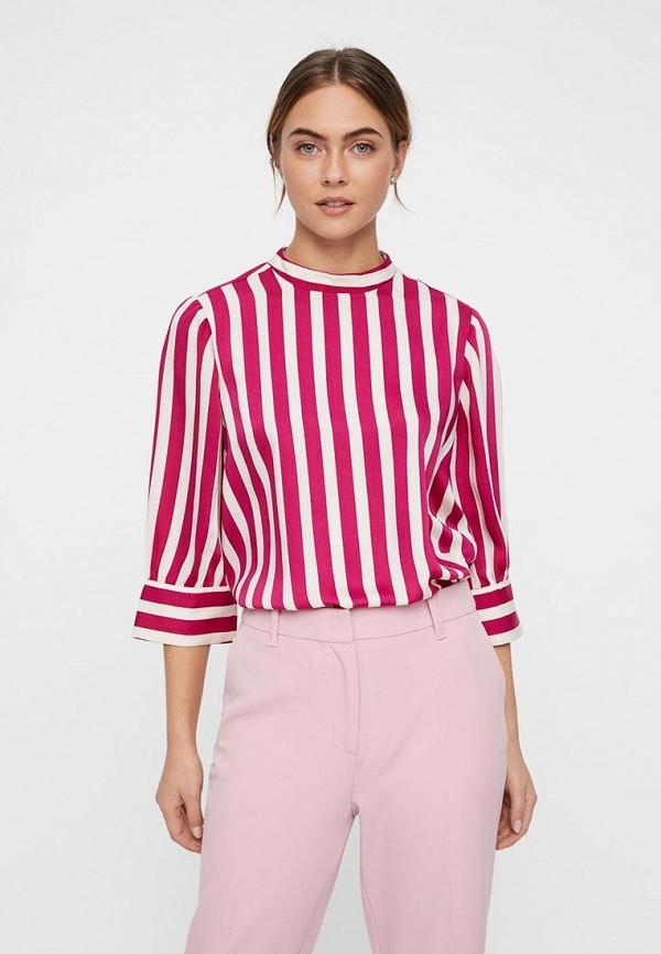 женская блузка vero moda, розовая