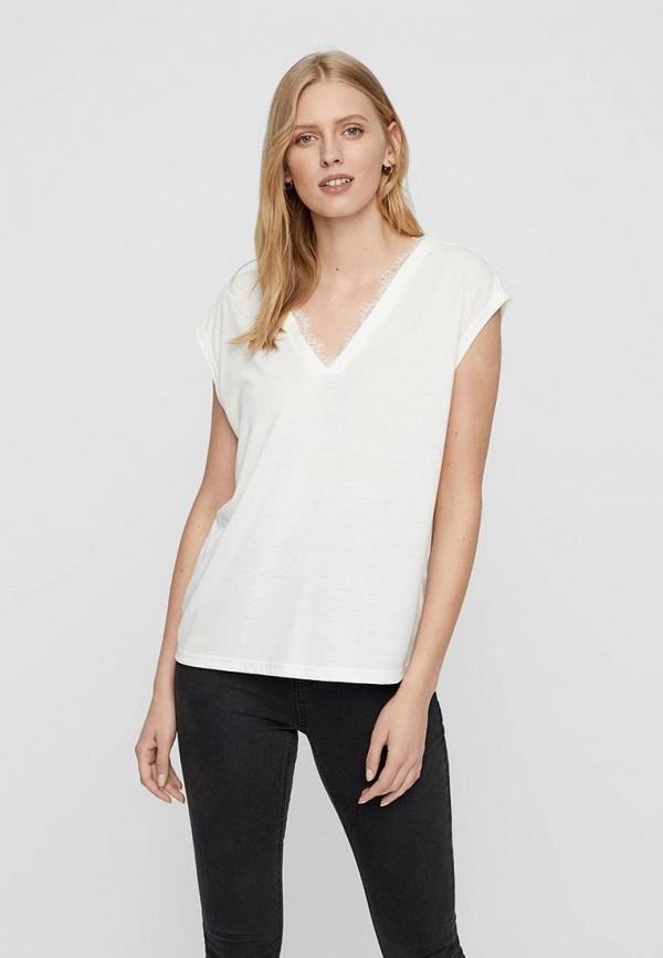 Футболка Vero Moda Vero Moda VE389EWDLWO3 блузка женская vero moda цвет белый 10194917 snow white размер xl 48