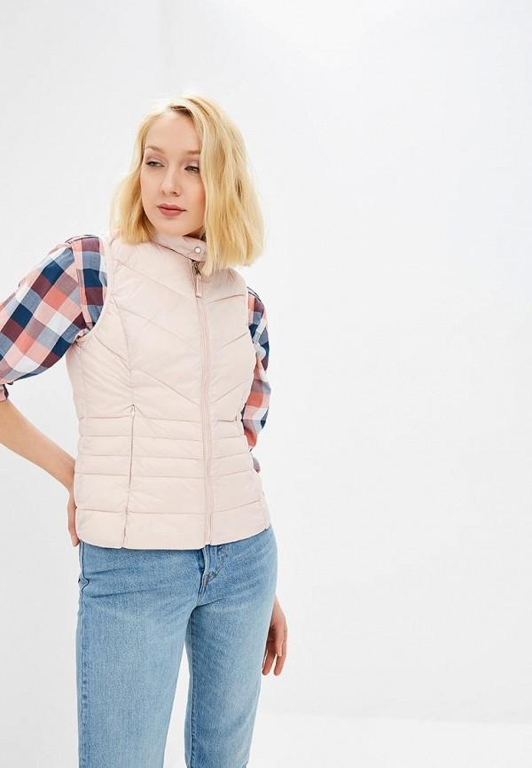 женский жилет vero moda, розовый