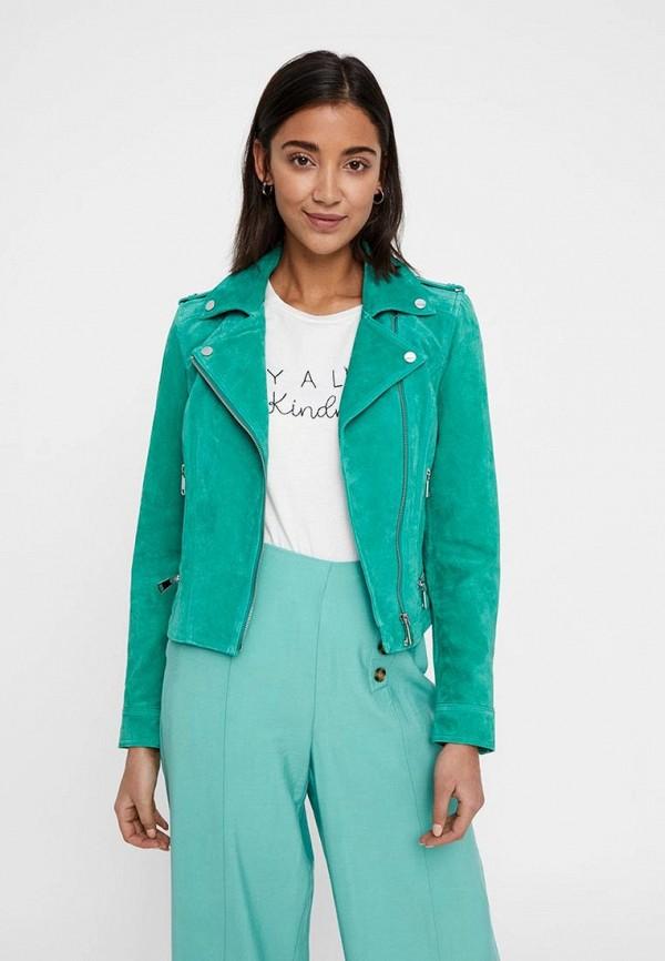 Куртка кожаная Vero Moda Vero Moda VE389EWDLWR9 куртка vero moda 10191226 black