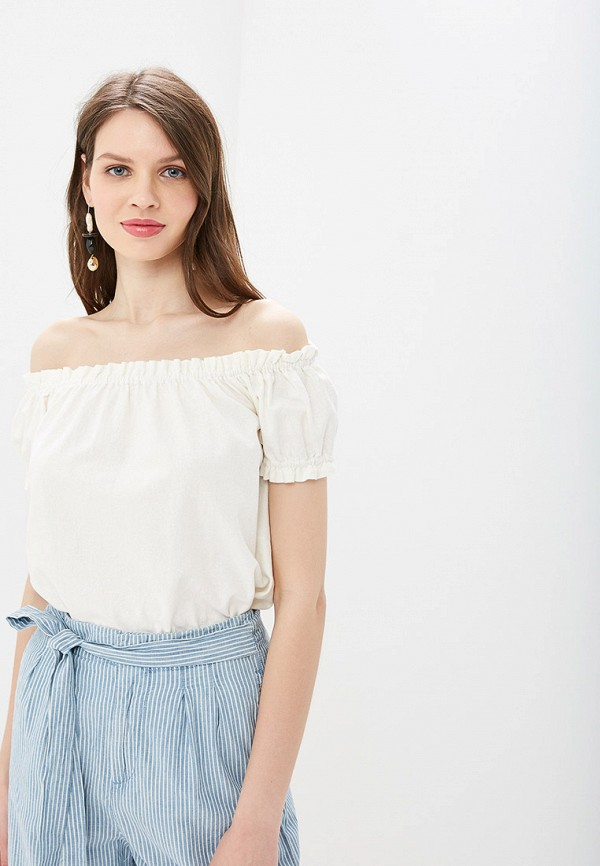 Блуза Vero Moda Vero Moda VE389EWDLWT1 блузка женская vero moda цвет белый 10194917 snow white размер xl 48