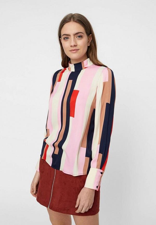 женская блузка vero moda, разноцветная