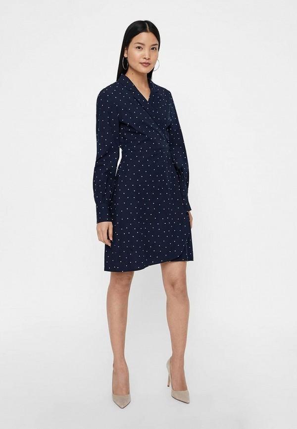 женское платье vero moda, синее