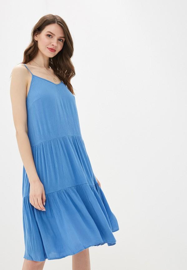 Купить женский сарафан Vero Moda синего цвета
