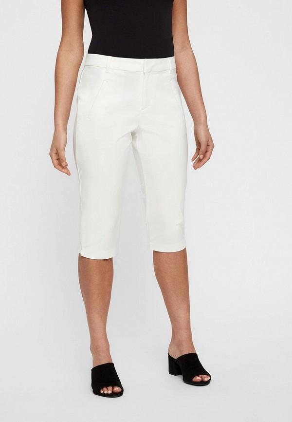 женские капри vero moda, белые