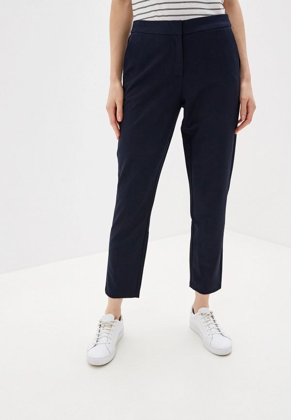 женские классические брюки vero moda, синие