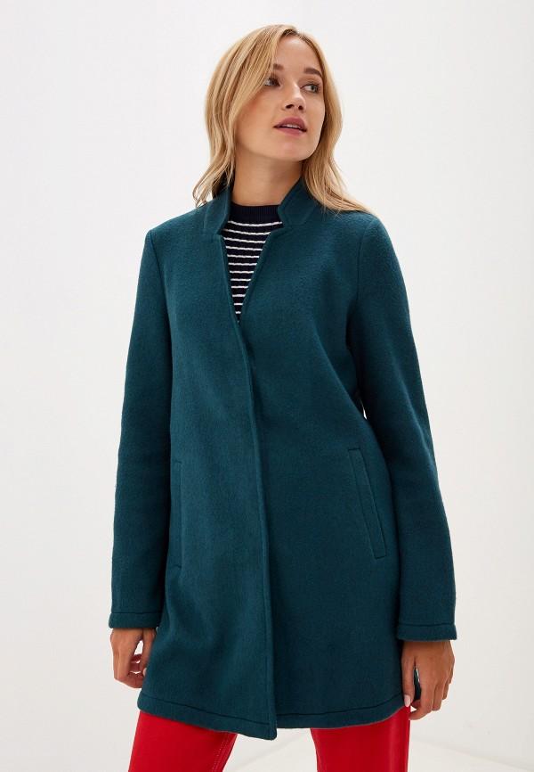 женское пальто vero moda, зеленое
