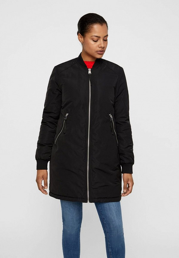 Куртка утепленная Vero Moda Vero Moda VE389EWFINA9 куртка женская vero moda цвет черный 10202806 black размер m 44