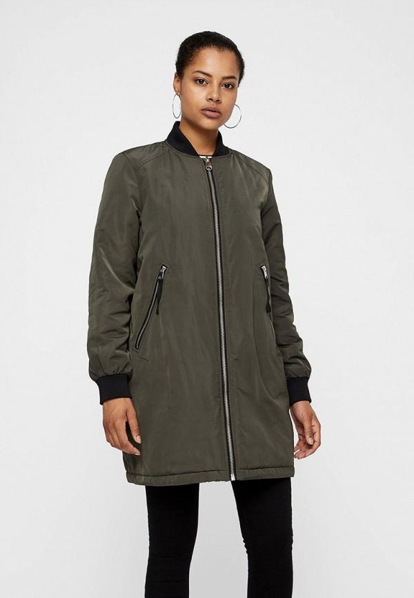 женская куртка vero moda, хаки