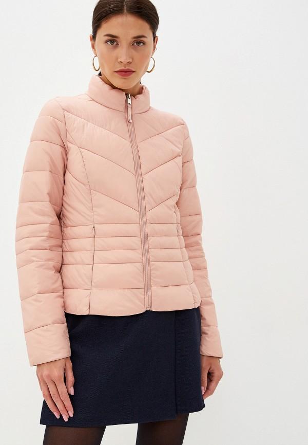 женская куртка vero moda, розовая