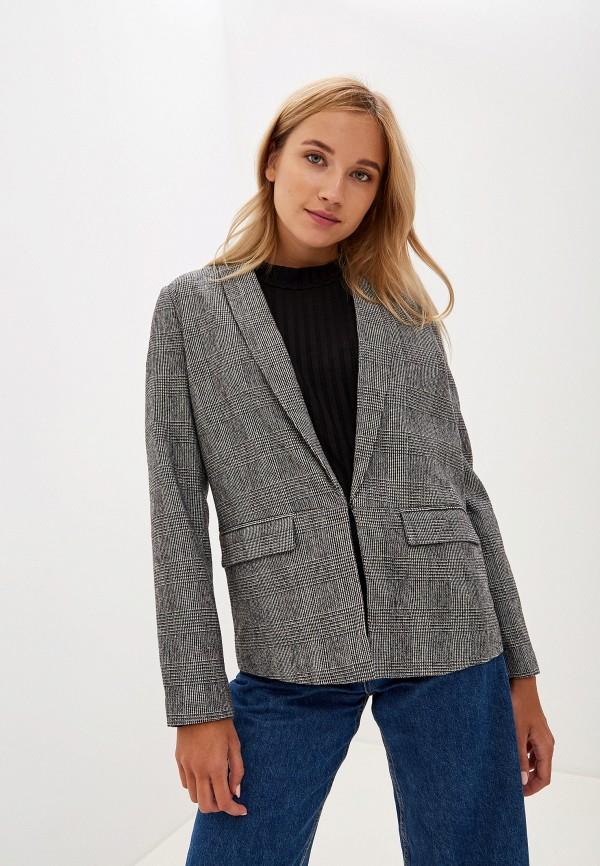 женский жакет vero moda, серый